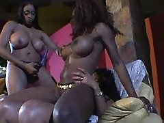 Ebony fat woman with hot body goes naughty