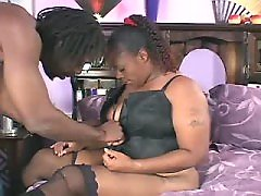 Ebony fat lady cant get enough fucking